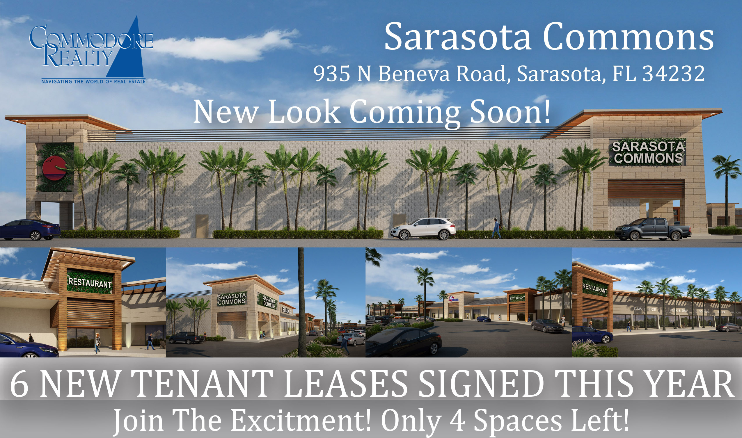 6 New Tenant Leases Signed This Year!